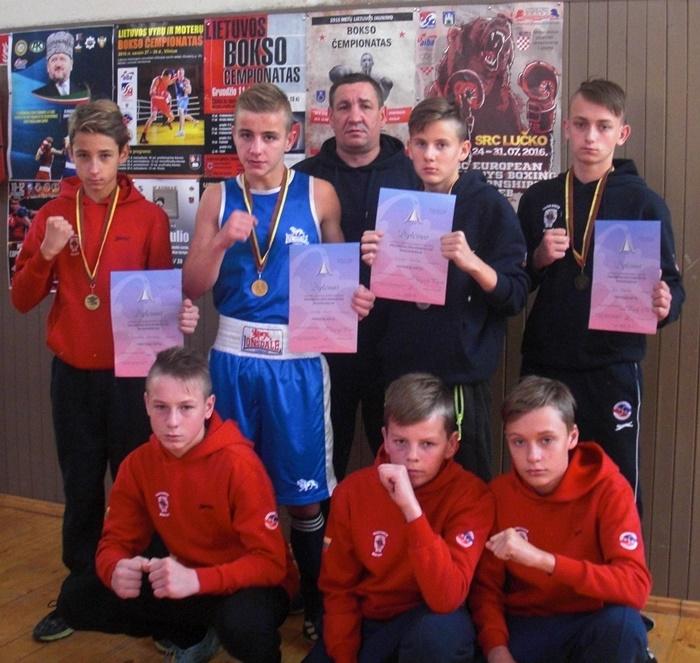 2016 m. Lietuvos jaunučių sporto žaidynių bokso finalinės varžybos