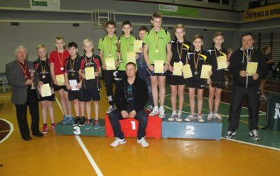 Stalo tenisininkų pergalės