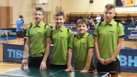 Jaunių komandinės stalo teniso pirmenybės