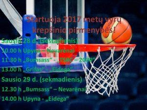 Startuoja 2017 metų vyrų krepšinio pirmenybės
