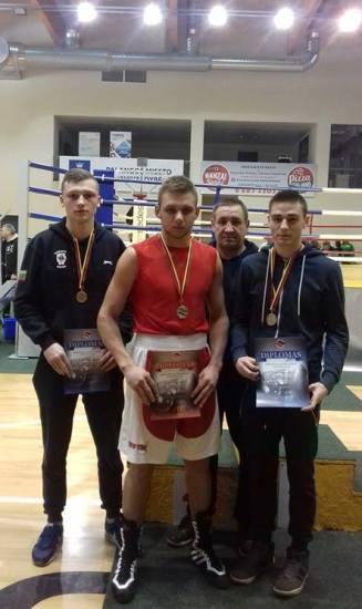 Telšiškių kovos Lietuvos jaunimo bokso čempionato varžybose