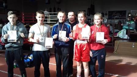 Boksininkų laimėjimai Lietuvos rajonų jaunių bokso čempionate