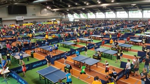 Sėkmingas Telšių stalo tenisininkų pasirodymas tarptautiniame turnyre Vokietijoje