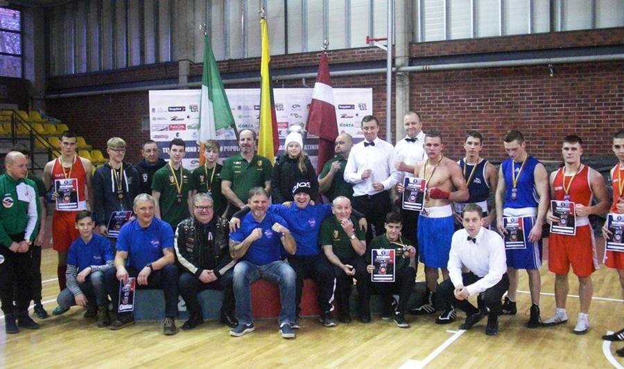 Tarptautiniame bokso turnyre telšiškiai skynė pergales