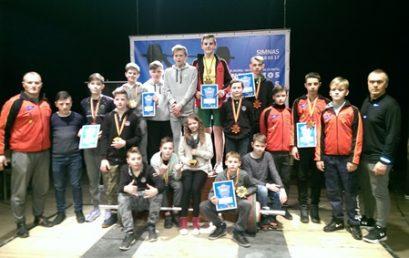 Telšių jaunių komanda – Lietuvos čempionė