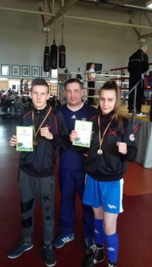 Boksininkai iš Telšių namo grįžo su medaliais
