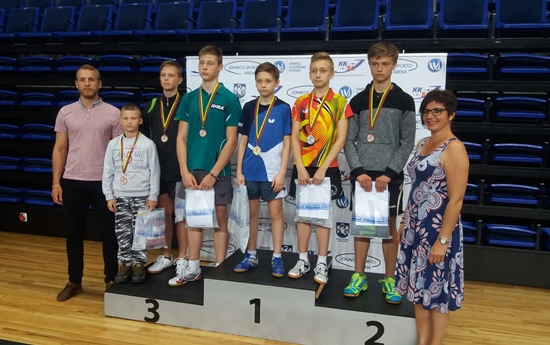 Stalo tenisininkai džiugina varžybų rezultatais