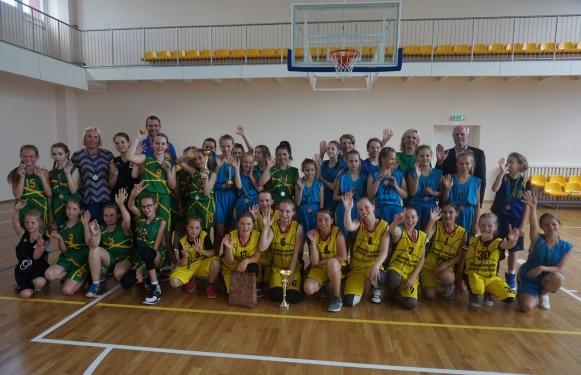 Mergaičių krepšinio turnyras A. M. Šaikūnui atminti