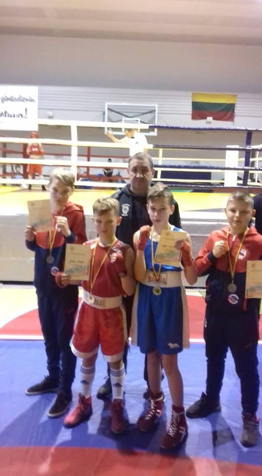 Sėkmingos boksininkų kovos jaunučių ir jaunių bokso pirmenybėse