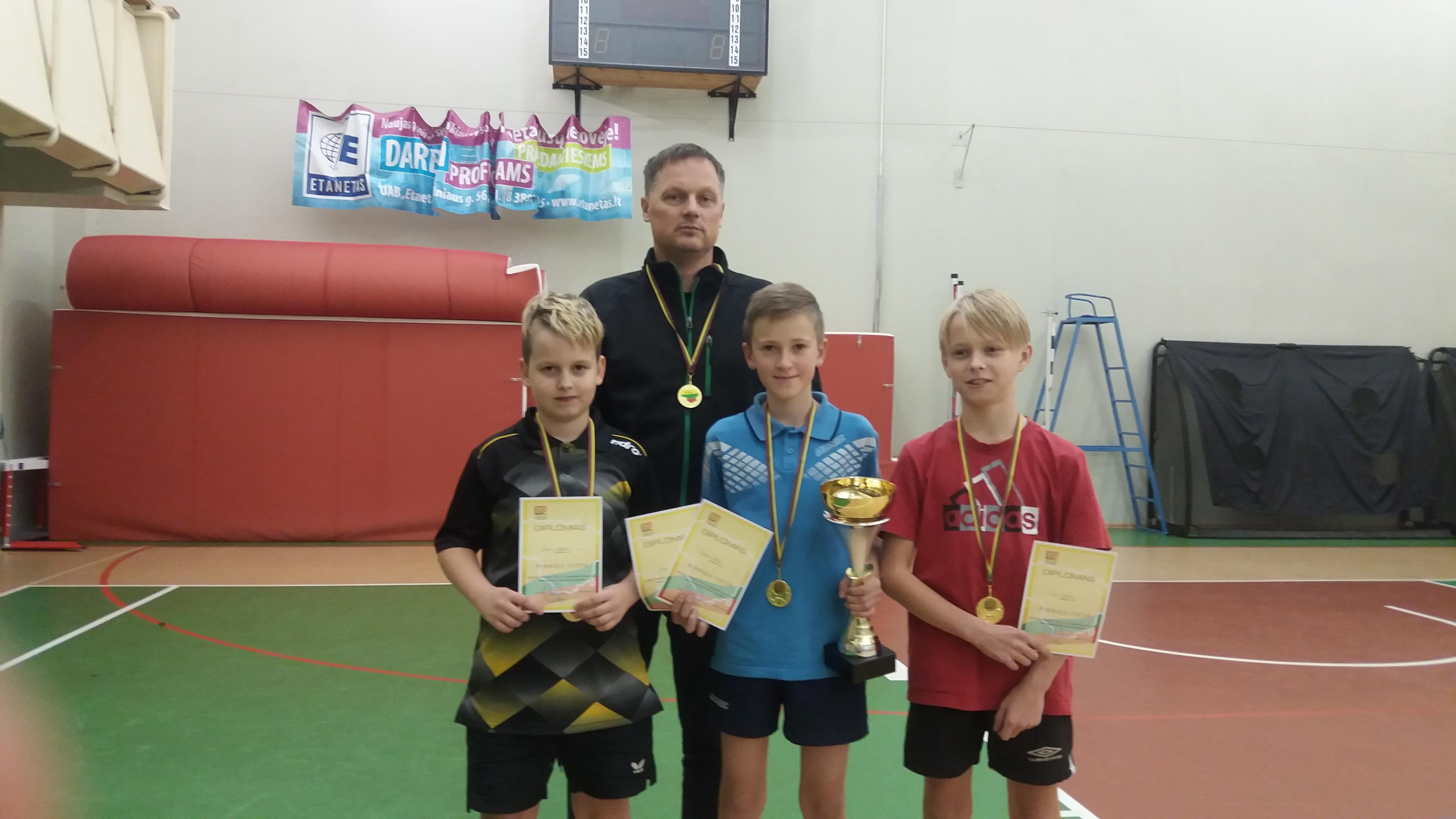 Telšiškiai – Lietuvos rajonų grupės stalo teniso čempionai