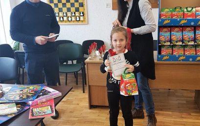Kalėdiniame vaikų greitųjų šachmatų turnyre
