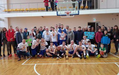 2018-2019 metų Telšių rajono atvirų vyrų krepšinio pirmenybių nugalėtoja – Upynos komanda