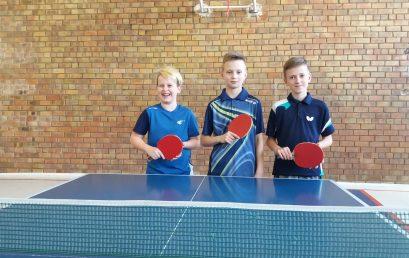 Sėkmingi startai Lietuvos jaunučių asmeninio stalo teniso čempionato zoninėse varžybose