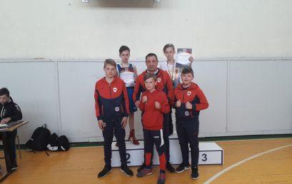 Telšiškių laimėjimai Lietuvos jaunučių berniukų ir mergaičių bokso čempionate