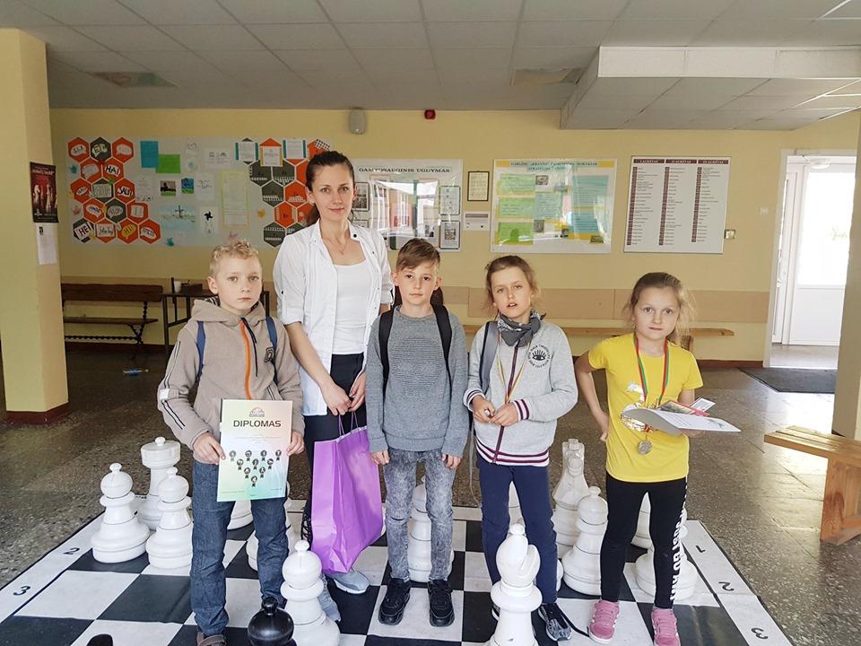 Tradicinės vaikų šachmatų varžybos, skirtos Gargždų miesto gimtadieniui ir tarptautinei vaikų gynimo dienai paminėti