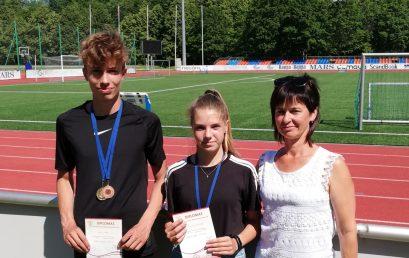 Telšiškių sėkmė Lietuvos jaunučių lengvosios atletikos čempionate