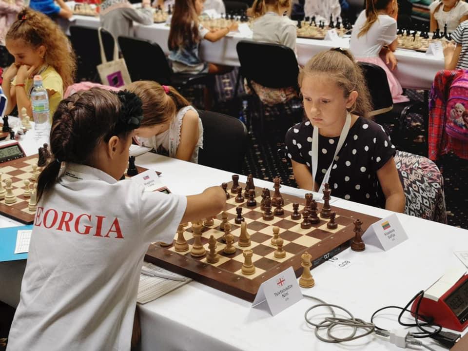 Europos vaikų, jaunučių ir jaunių šachmatų čempionate sėkmė lydėjo Sofiją Kiselevą