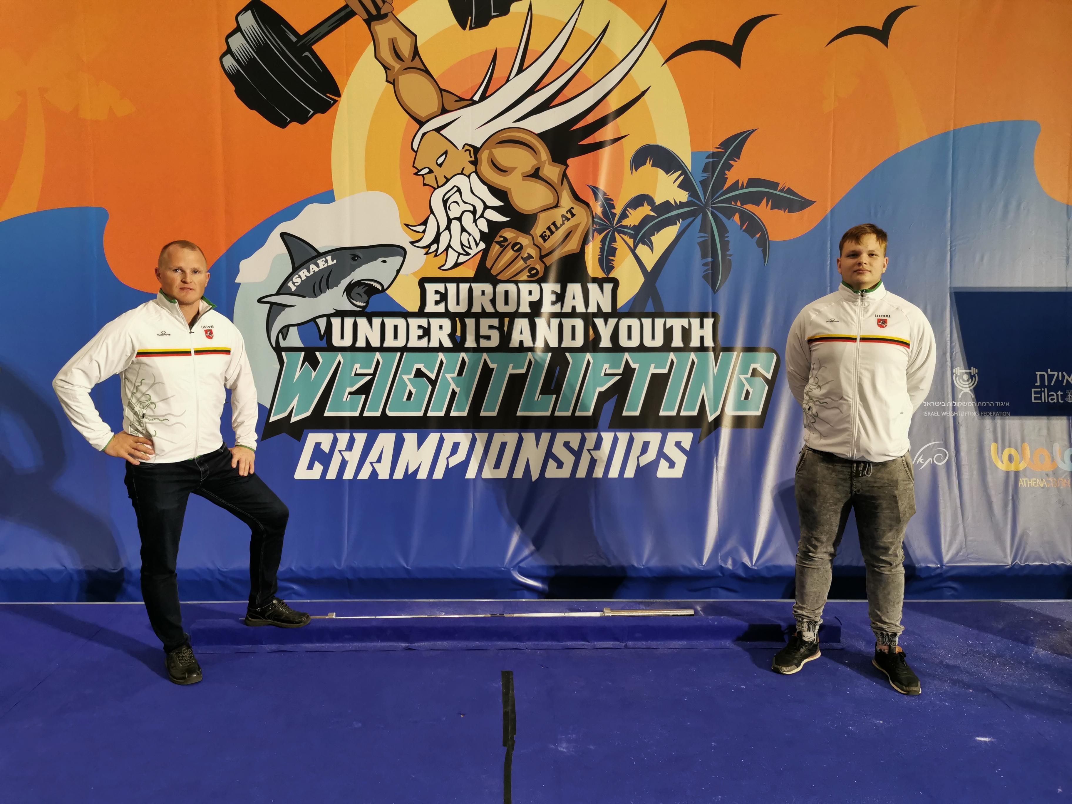 Europos čempionate – tarp penkių geriausiųjų