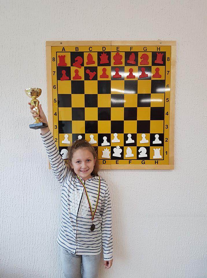 Sofija – trečios vietos laimėtoja