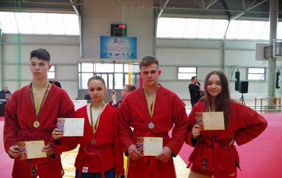 Lietuvos sambo pirmenybėse – keturi  medaliai